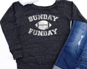 Sunday Funday Sweatshirt, Womens Sunday Funday Shirt, Football Shirts, Football Sweatshirt, Sunday Funday Long Sleeves, Football Sweatshirts