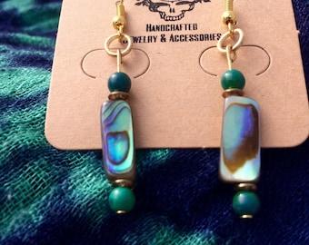 Abalone Princess Earrings