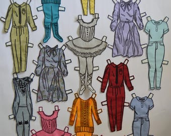 Dress-up doll clothes