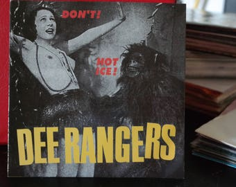 Dee Rangers- Don't - Hot Ice- 7 inch Record- 1998- Swedish Garage Punk Rock Vinyl-Asterisk Records-