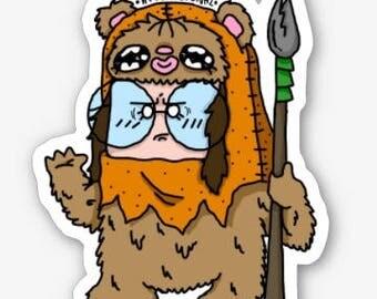 Ewok Mini Fetchónaz sticker