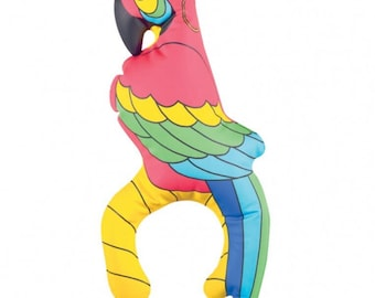 Pirates Treasure Inflatable Parrot 27.9cm/Pirate party/pirate parrot/pirate accessories