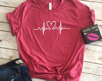 Womens Valentines Shirt, Valentines Shirts For Women, Valentines Day Gift,  Gift For Women