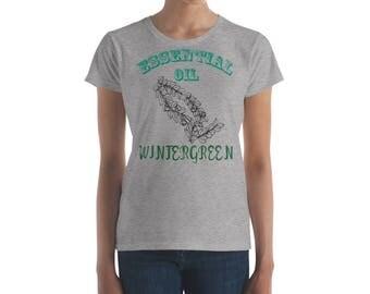 Essential Oil Wintergreen Women's short sleeve t-shirt