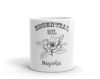 Essential Oil Magnolia Mug