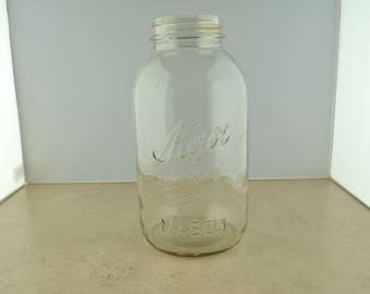 Vintage Kerr Self Sealing Mason Half Gallon Jar