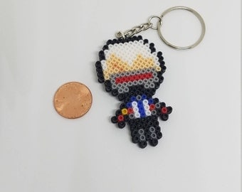 8bit Pixel Art | Overwatch Soldier 76 Inspired Key chain