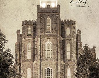 Logan Temple - Holiness to the Lord Digital Download