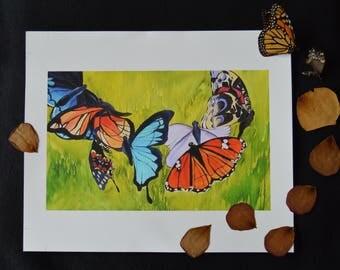 "Art Print, ""Family Reunion"" Giclee Print"