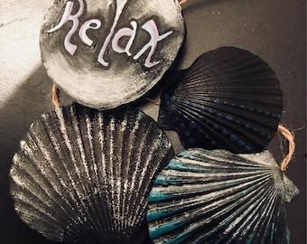 Relax, seashell, Muschel, Ireland , zen moment