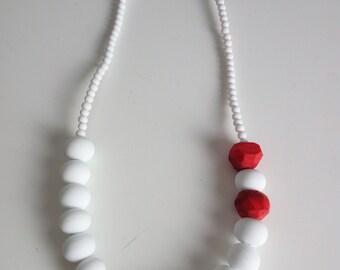 Satin Glass Necklace