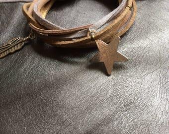 Multiliens stars bracelet