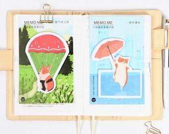 Cute Corgi Sticky Notes, Post It, Memo Pads