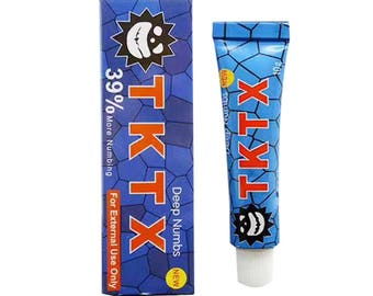 TKTX Tattoo Tatoo Cream pain relieving 10gr. 39% Lightning delivery immediately available