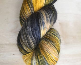 After the Storm - Funky Fingering - Hand Dyed Sock Yarn - 400m/100g