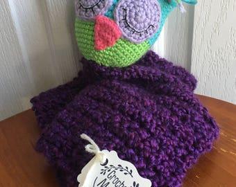 sleepy owl lovey