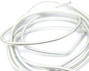 Silver Medium French Wire/gimp/purl