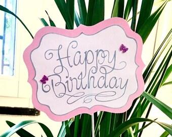 Birthday decoration/ cake topper
