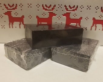 Handmade Soap - Activated Charcoal, Tea Tree Oil, and Peppermint