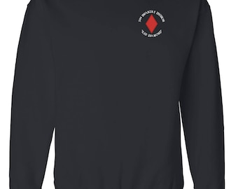 5th Infantry Division Embroidered Sweatshirt-4058