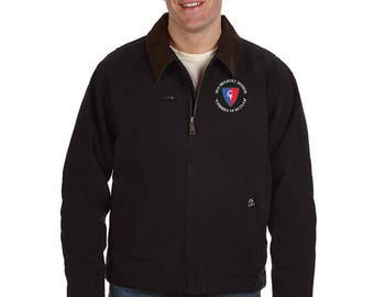 38th Infantry Division Embroidered DRI-DUCK Outlaw Jacket-7433