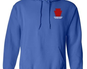 28th Infantry Division Embroidered Hooded Sweatshirt-7457