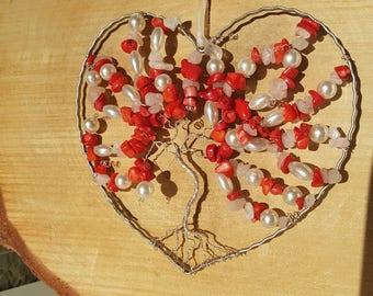 Decoration Tree of Life ' lovely Heart '