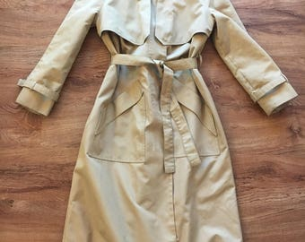 Vintage | Tan Trench Coat