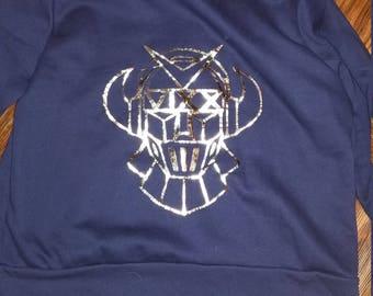 Navy VIXX Rovix hoodie