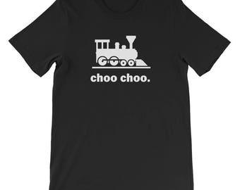 Choo Choo Train T-Shirt - Railway Road Conductor Locomotive