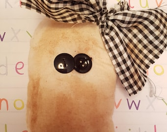 """Grungy Ghoul """"Boo Ghost"""" - A Rag Doll made with love Halloween"""
