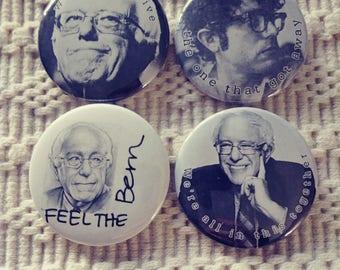 Bernie Sanders buttons - 4 pack