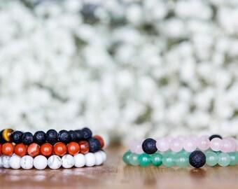 Reiki Infused Crystal Intention Bracelet