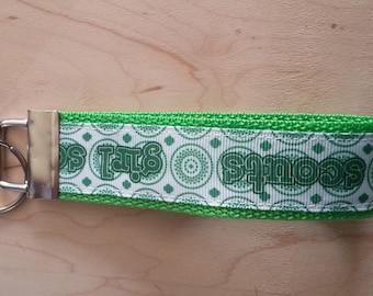 Wristlet Key Fob - Girl Scouts