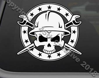 Ironworker Decal Etsy