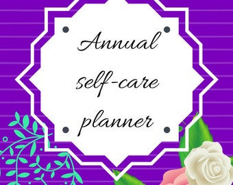 One-year of self-care printables