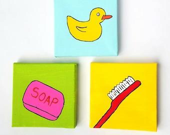Wash Rinse Repeat Pop Art Set #1