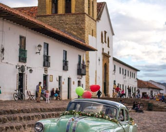 Car in Villa de Leyva, Colombia