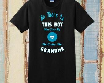 GIFTS FOR GRANDMA, Custom T-Shirt, Personalized T-Shirt, For Grandma, Grandma Gifts, Grandma Shirt, Personalized Grandma, Grandson