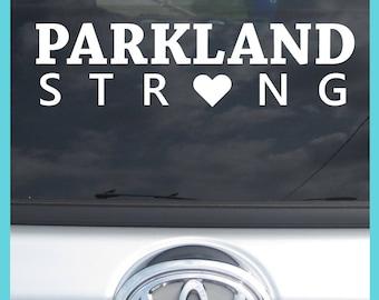 Parkland Strong Sticker Decal