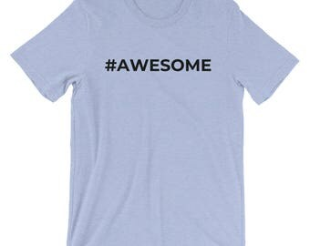Hashtag Awesome Men's Shirt