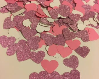 Heart Shaped Table Confetti