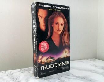 True Crime (1995) VHS