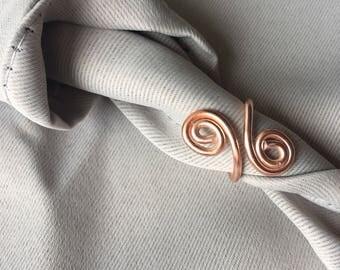 Rose Spiral Ring