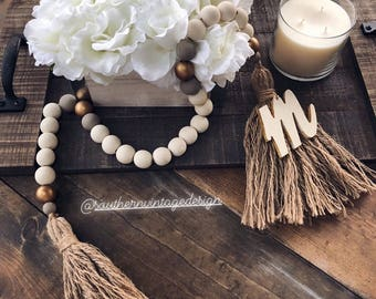 Southern Vintage Home Decor Beads