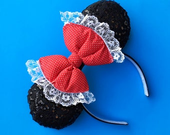 Minnie Mouse Ears   Mickey Ears   Minnie Ears   Disney Ears   Classic Minnie Ears  Polka Dot Ears   Rock the Dots   Minnie Mouse