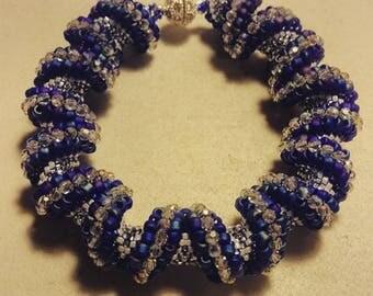 Cellini Spiral Bracelet with Swarovski Crystals - CUSTOM MADE for you