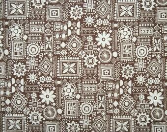 Vintage Tiki fabric African ethnic Java fabric ethnic boho fabric