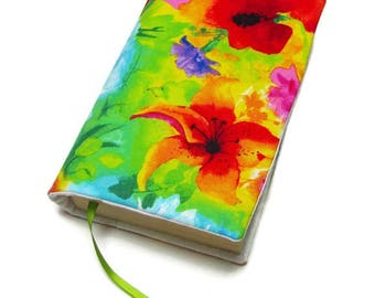 Book cover, STANDARD SIZE paperback book cover, mass market size, book protector, cotton, padded cover, Ambrosia