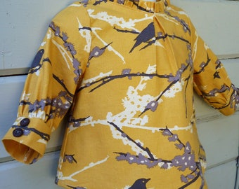 Fall 2017 Golden Sparrow Tunic Top Ready to Ship in Baby Girls size 9 to 12 months
